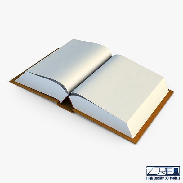 Open Book v 1 - 3DOcean Item for Sale