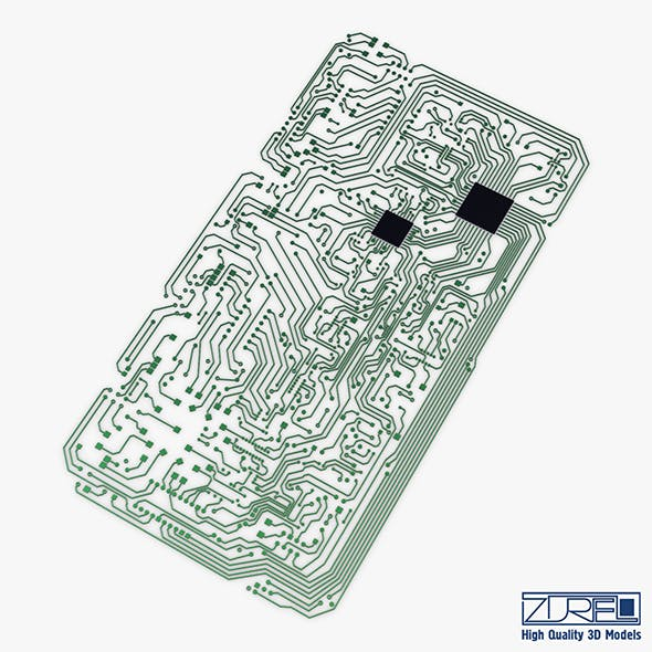 Electronic circuit v 2 - 3DOcean Item for Sale
