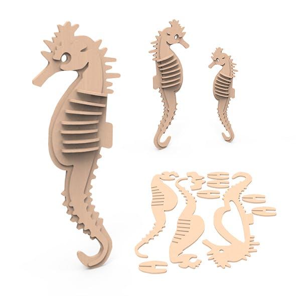 SEA HORSE - 3DOcean Item for Sale