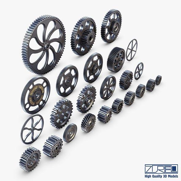 Gears Set v 1 - 3DOcean Item for Sale