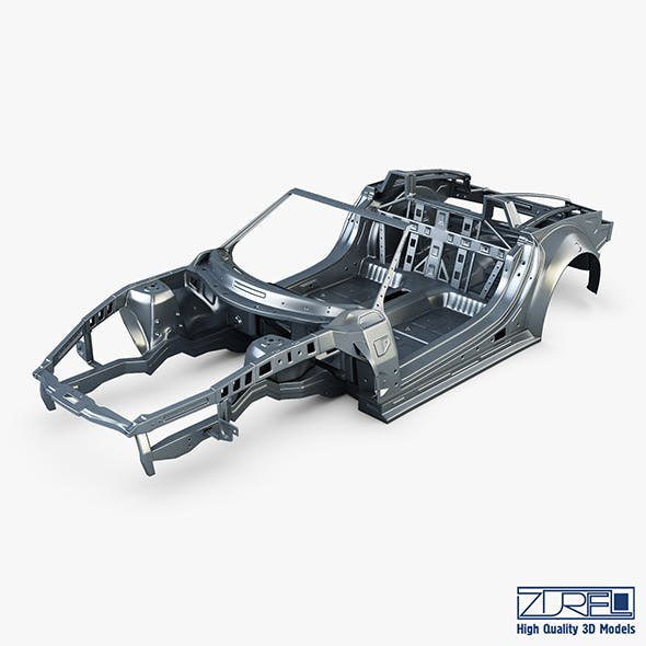 Car frame v 1 - 3DOcean Item for Sale