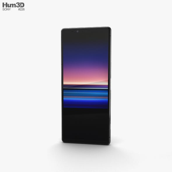 Sony Xperia 1 Black - 3DOcean Item for Sale