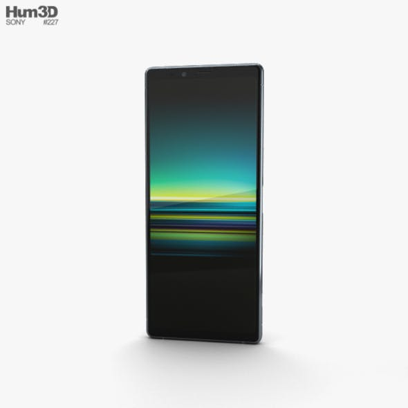Sony Xperia 1 Gray - 3DOcean Item for Sale