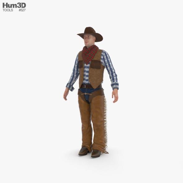 Cowboy - 3DOcean Item for Sale