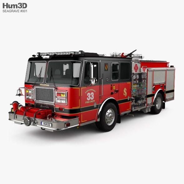 Seagrave Marauder II Fire Truck 2014 - 3DOcean Item for Sale