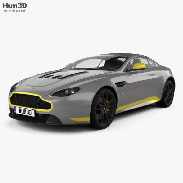 Aston Martin V12 Vantage S Sport-Plus 2016 - 3DOcean Item for Sale