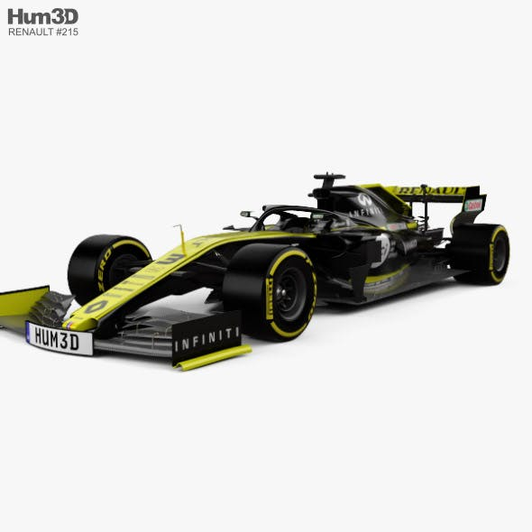 Renault R.S.19 F1 2019 - 3DOcean Item for Sale