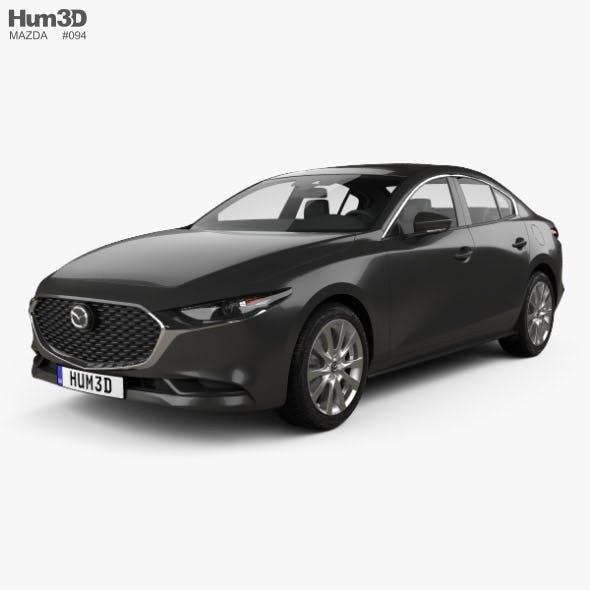 Mazda 3 sedan 2019 - 3DOcean Item for Sale