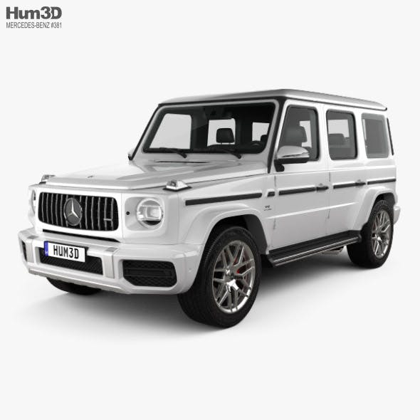 Mercedes-Benz G-class (W463) AMG 2019 - 3DOcean Item for Sale