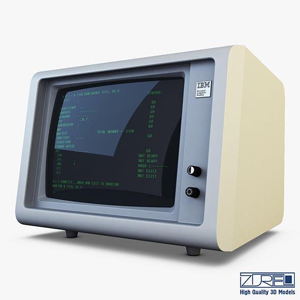 IBM 5150 Monitor - 3DOcean Item for Sale