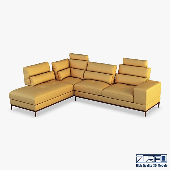Avocado sofa - 3DOcean Item for Sale