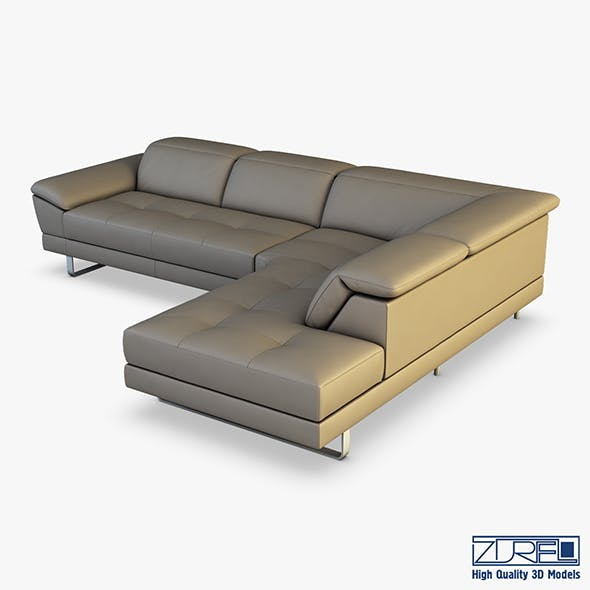 B796 sofa - 3DOcean Item for Sale