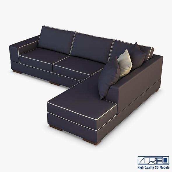 Oscar sofa - 3DOcean Item for Sale