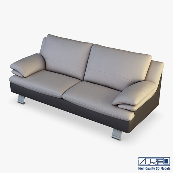 Z742 sofa v 1 217cm - 3DOcean Item for Sale