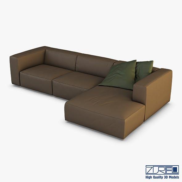 Vogue sofa - 3DOcean Item for Sale