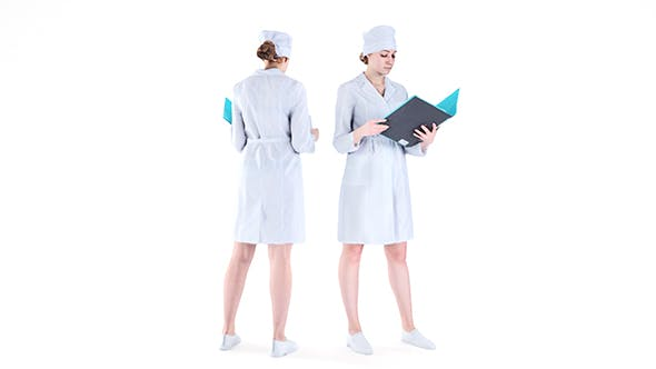 Medical nurse 75 - 3DOcean Item for Sale