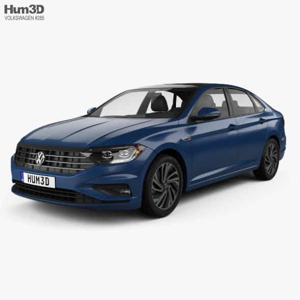 Volkswagen Jetta SEL Premium US-spec 2018