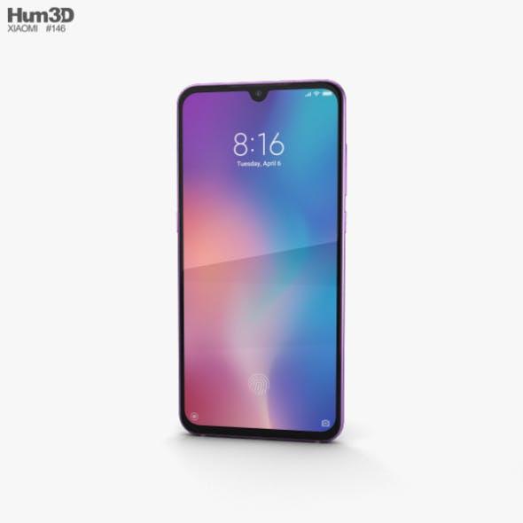 Xiaomi Mi 9 Lavender Violet - 3DOcean Item for Sale