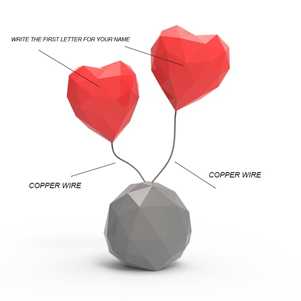 LOVE HEART - 3DOcean Item for Sale