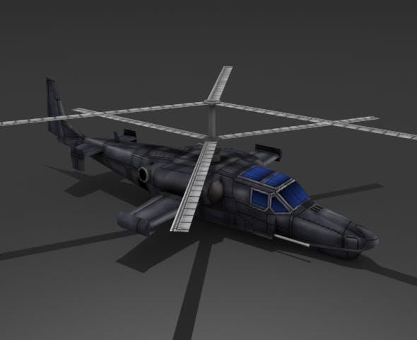 Ka-50 Hokum - 3DOcean Item for Sale
