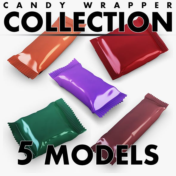 Candy wrapper collection volume 1
