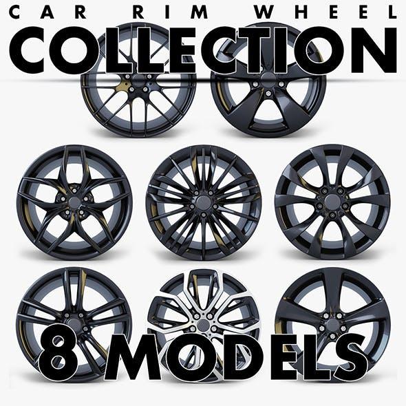 Car Rim Wheel Collection volume 1