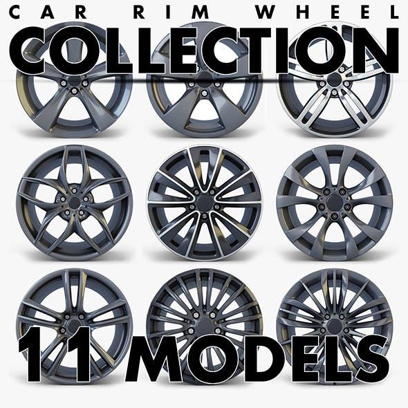 Car Rim Wheel Collection volume 2