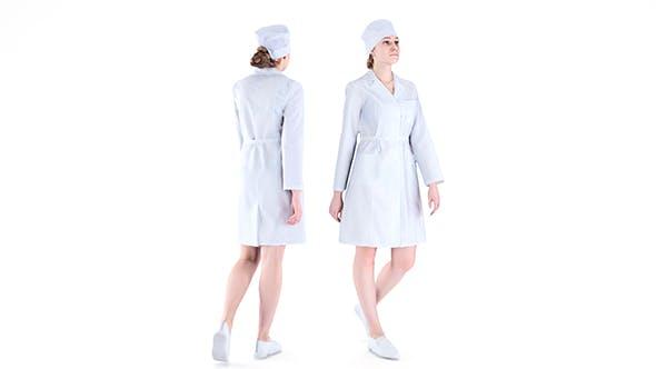 Medical nurse 78 - 3DOcean Item for Sale