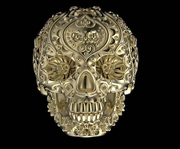 ring skull - 3DOcean Item for Sale