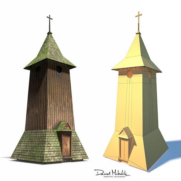 Belfry -Slav Architecture - 3DOcean Item for Sale