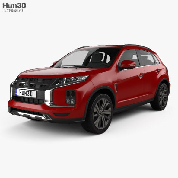 Mitsubishi ASX 2019 - 3DOcean Item for Sale