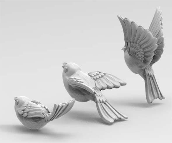 birds - 3DOcean Item for Sale