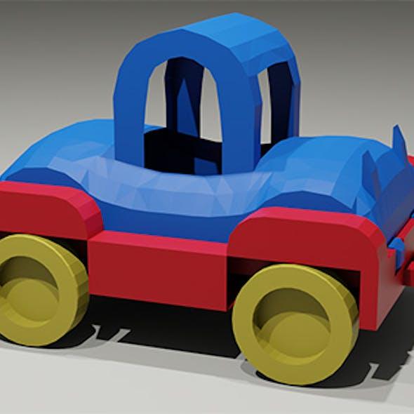 Toy low-poly Car