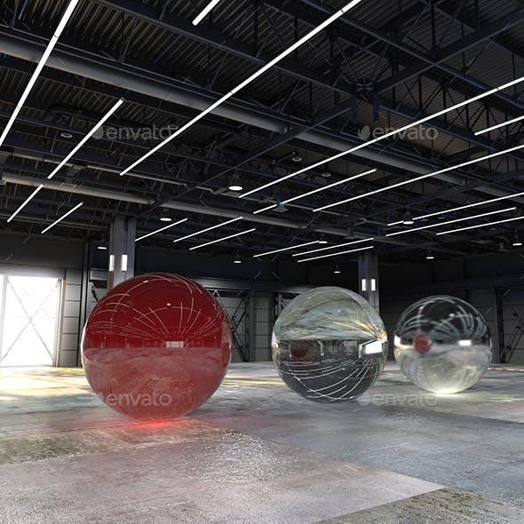 pavilion expo - 3DOcean Item for Sale