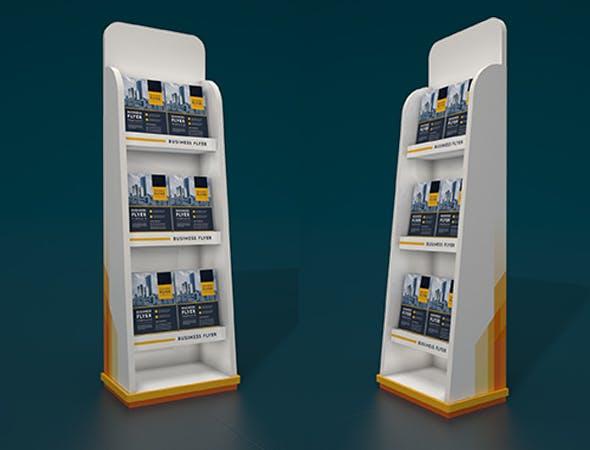 Rack Brochure - 3DOcean Item for Sale