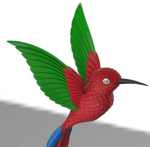 humming bird - 3DOcean Item for Sale
