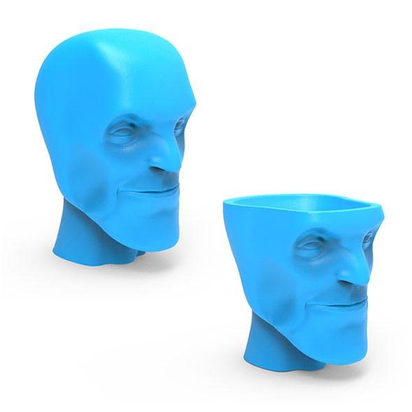 Head Vase - 3DOcean Item for Sale