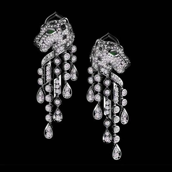 earrings cartier