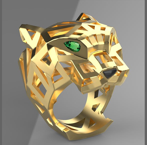ring cartier - 3DOcean Item for Sale