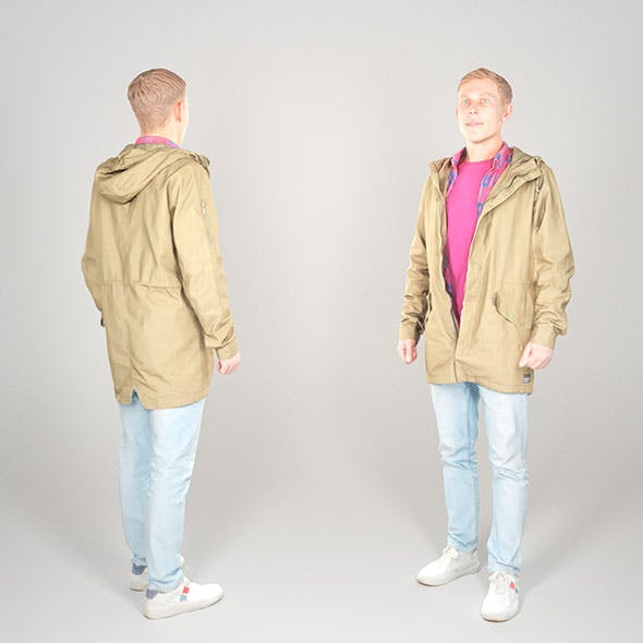 Male casual style 22 - 3DOcean Item for Sale