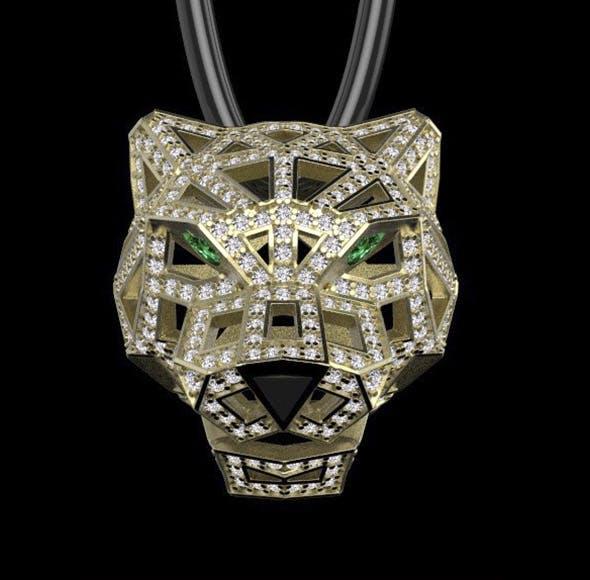 pendant cartier - 3DOcean Item for Sale