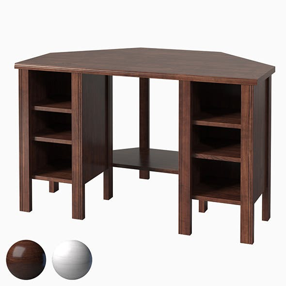 IKEA BRUSALI Corner desk