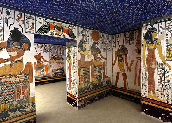 Tomb of Egyptian Queen Nefertari - 3DOcean Item for Sale