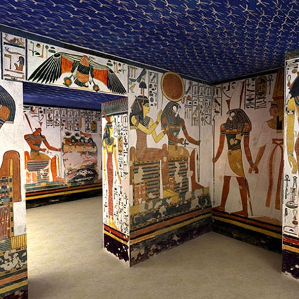 Tomb of Egyptian Queen Nefertari