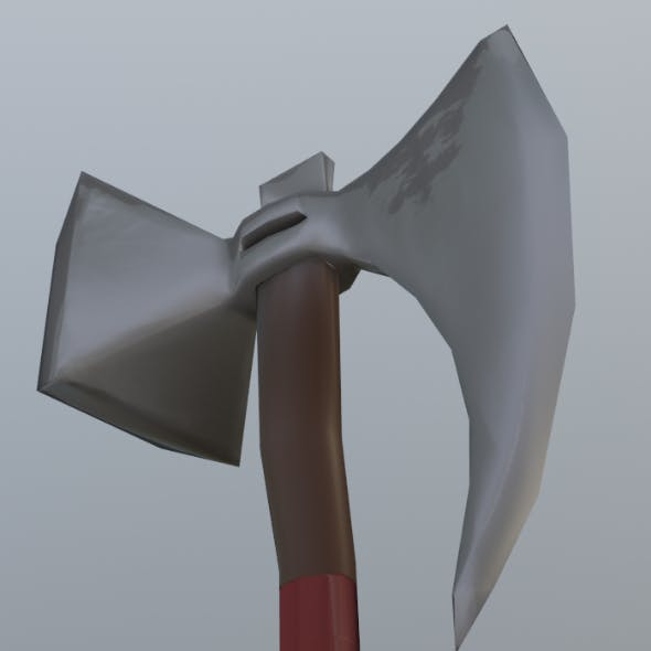 AxeHammer LowPoly