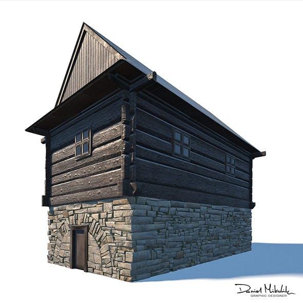 Granary Building - Slav Architecture - 3DOcean Item for Sale