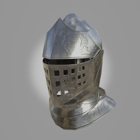 Knight Helmet - 3DOcean Item for Sale