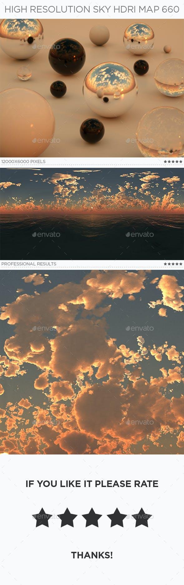 High Resolution Sky HDRi Map 660 - 3DOcean Item for Sale