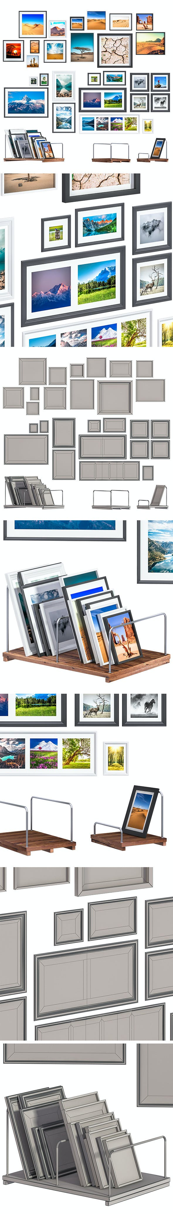 L3DV05G07 - photoframes and posters set - 3DOcean Item for Sale