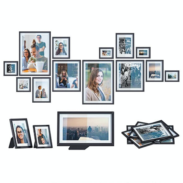 L3DV05G01 - photo frames and posters set